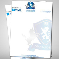 Paper Letterhead Printing Service, in India