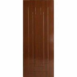Brown PVC Flush Door