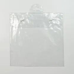 PVC Button Garments Bag