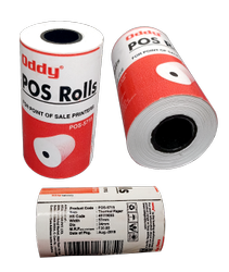 Oddy Pos Roll For Specialised Application - For Atm, P.O.S., Parking Ticket