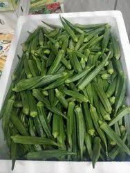 Green Okra, Packaging Size: 5 kg