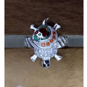 Kachua Mens Silver Ring