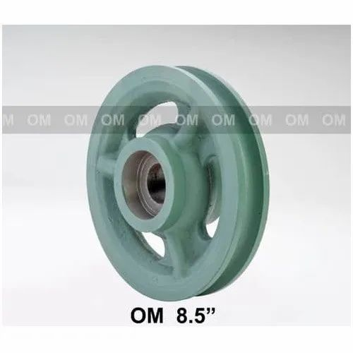 Cast Iron Rope Pulley, for Lifting Platform, 12 m
