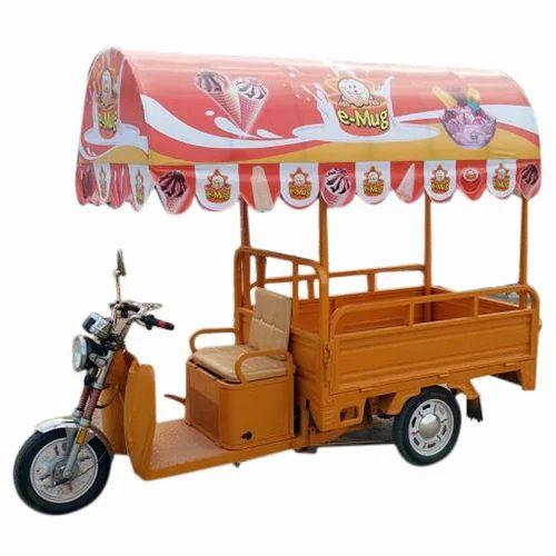 Three Wheeler Electric Ice Cream Van