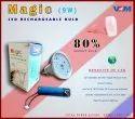 V4M Magic AC/DC LED Bulb