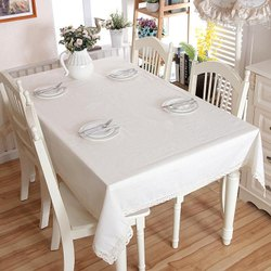 White Rectangular Dining Table Cover & Table Covers in Thane मेज का कवर थाणे Maharashtra ...