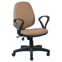Brown And Black Computer Chairs-ifc036