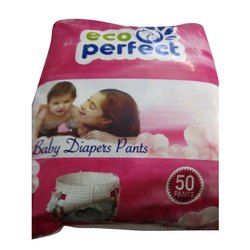 Cotton Eco Perfect Baby Diaper Pant, Size: Medium