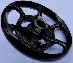 metal Sewing Machine Balance Wheel, For textiles