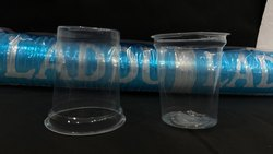 laddu Transparent Disposable Plastic Glasses 250 Ml, 1.7