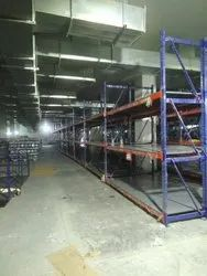 Bulk Storage Steel Rack