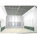 Side Draft Paint Booth