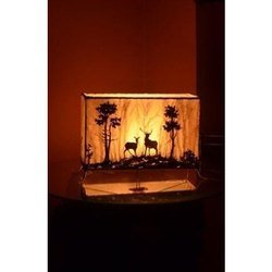 Bamboo Printed Table Lamps