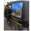 Outdoor Auto Rickshaw Rain Cover Branding Service, In Pan India, Mode Of Advertising: Offline