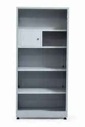 Mebel Off White Office Almirah With Half Locker, Onsite Assembly Provided: No