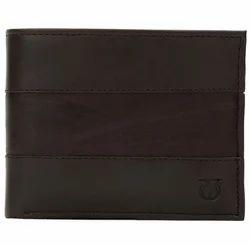 Titan Brown Genuine Leather Wallet TW107LM1DB, Size: 9.5 Cm