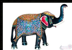 Metal Elephant T/UP Statue