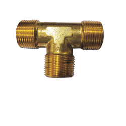 Brass Hose Tee, Size: 1 inch, for Industrial