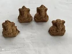 Ganesh Murti Made By Cow Dung
