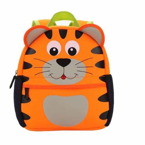 Unisex Printed Kids Bag, Capacity: Large