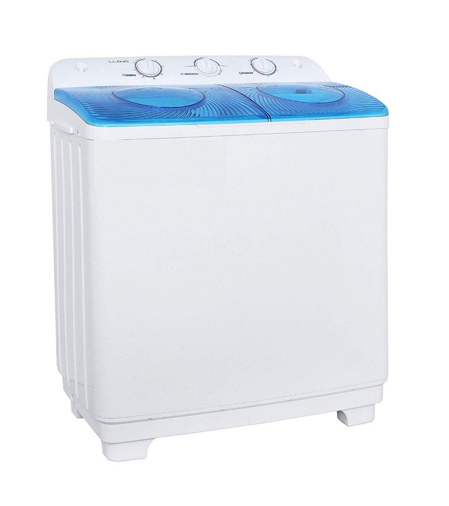 Lloyd 6.5 kg Semi Automatic Top Load Washing Machine, LWMS65SP, White...