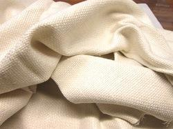 8 Ply Matka Thick Silk Fabric-Off White