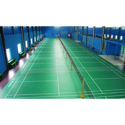 Green Badminton Court Construction