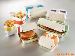 AS Food Paper Burger Box, For Packaging