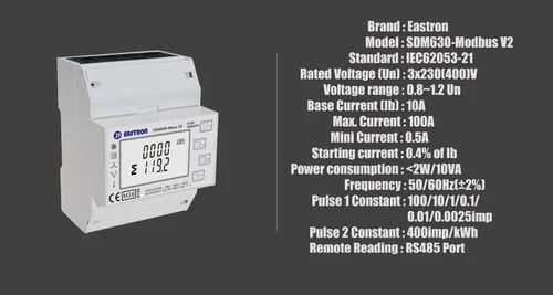 SDM630 Modbus V2, Multi-Function Power Analyser