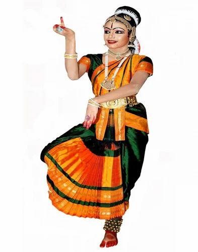 3de12de3f Polyester Bharatnatyam Dress