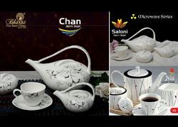 White Designer Tea Set