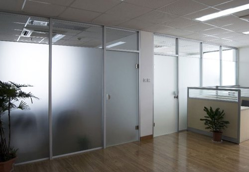 Framed Glass Office Partition