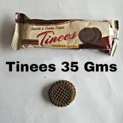 35 Gram Tinees Cream Cookies, Packaging Type: Box