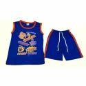 Blue Cotton Designer Kids Wear