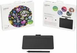 Wacom CTL-4100WL/K0-CX Intuos Small Bluetooth Pen Tablet (Black)