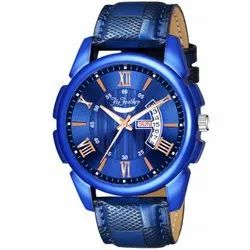 Latest Fly Feather Trending Fashionable Analog Watch For Men - Dark Blue Dial