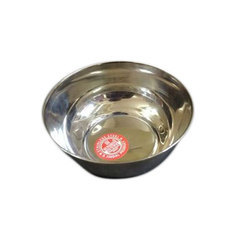 Sunshine Stainless Steel Bowl (Rasgulla Vati), for Home