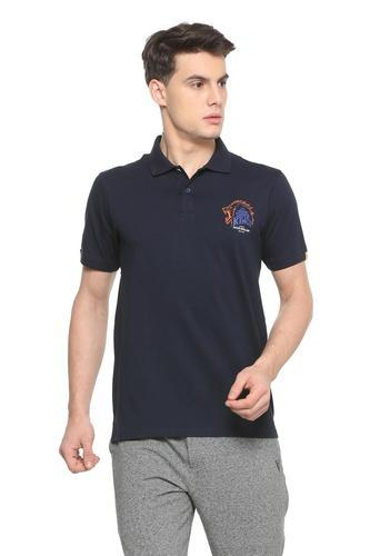 14c6ad4c68d Peter England Navy Ekp318008622 Csk Navy Polo T Shirt