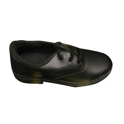 Boys School Black Shoes