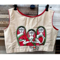 Three Ladies Embroidery Blouse