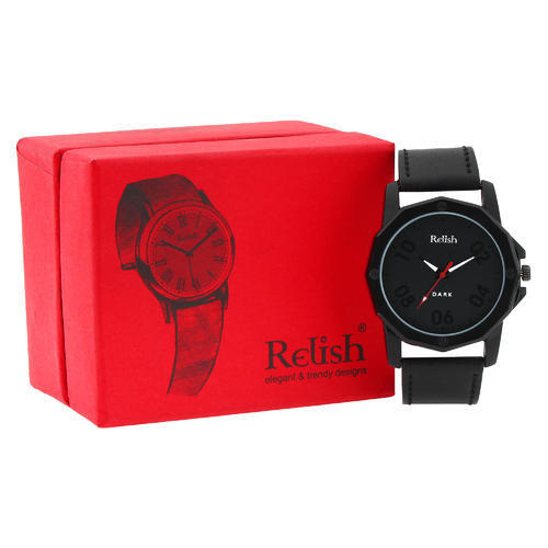 32b14bdb7 Men s Black Wrist Watch for gifting at Rs 205  piece