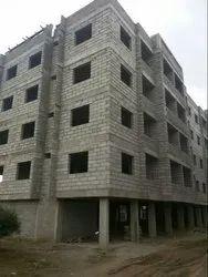 Private Concrete Frame Structures Villa Construction Service, Coimbatore