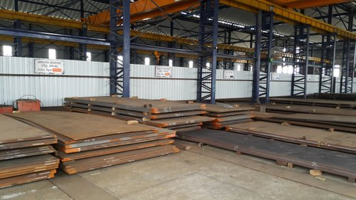 Rectangular High Tensile Steel Plates, for Industrial, Thickness: 1.6 to 130 mm thk