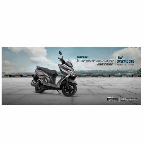 Suzuki Burgman Street CVT Scooters - Suzuki Motorcycle India