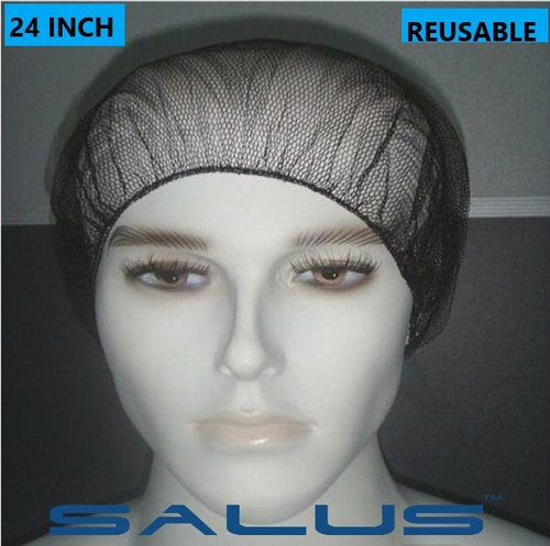 Round Disposable Nylon Net Cap Hair Net, For Professional, Size: 18x24 Inch