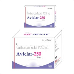 Clarithromycin Tab 250 Mg