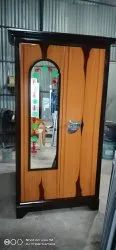 Brown Iron Wood Finish Steel Doors, For Home, Size: 6.5 Height