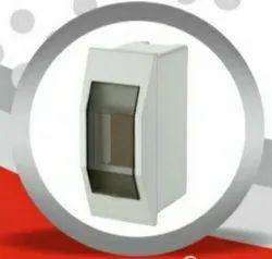 BHAIRAV Single Door PVC Eco Whiteline MCB Box, For Electric Fittings, 50 X 160