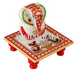 Decorative Ganesh Chowki