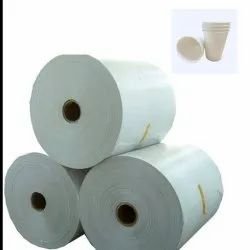 PE Coating White Cup Stock Paper Rolls, For Industrial, GSM: 150 - 200